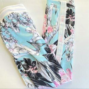 Nike floral pants size xs